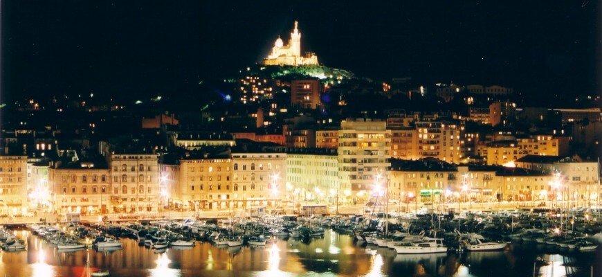 Marseille-by-night